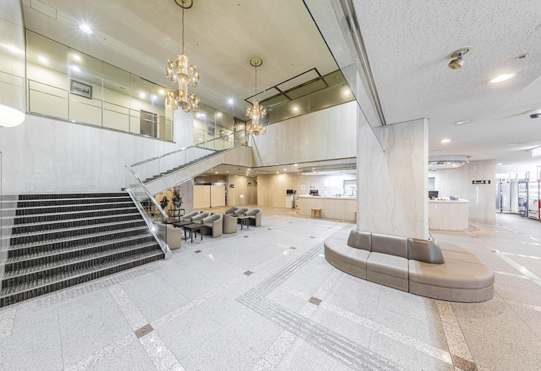 サニーストンホテル, 吹田市, 内部エントランス