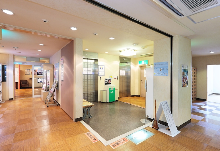 Golden Time Takamatsu, Τακαμάτσου, Traditional Δωμάτιο (Japanese Style Room, Men Only), Εσωτερική είσοδος