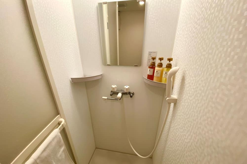 Double Room (Private Bathroom) W/4 nights Smoking(No cleaning) - Bathroom
