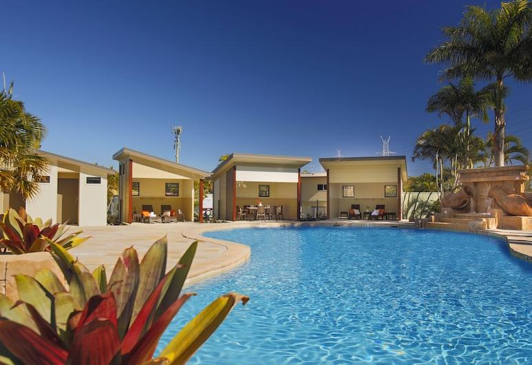 Brisbane Holiday Village, Ngoại ô Eight Mile Plains, Hồ bơi