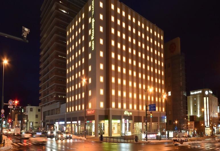 天然温泉 灯の湯 ドーミーイン PREMIUM 小樽, 小樽市, ホテルのフロント - 夕方 / 夜間