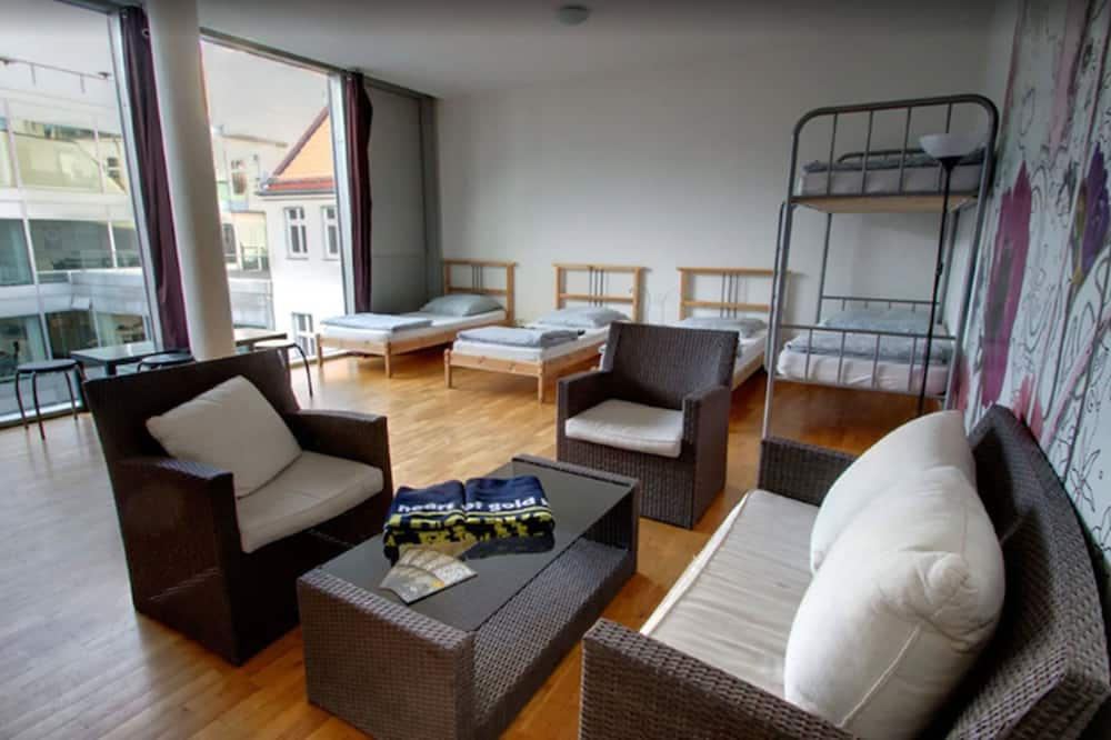 Basic Shared Dormitory, Multiple Beds, Shared Bathroom (1 Bed in 7-bed Room) - Living Area