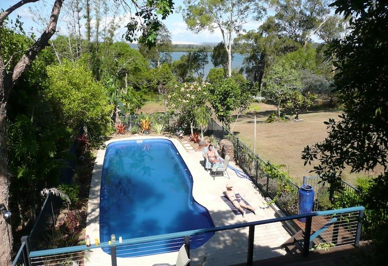 Yarrandabbi Dreaming B&B Apartment and Cottage, Đảo Macleay, Hồ bơi ngoài trời