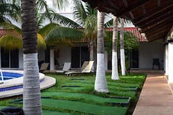 Foto del Hotel Plaza Almendros en Isla Mujeres