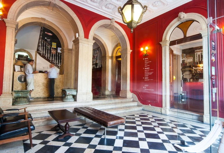 The Independente Hostel & Suites, Lissabon, Eteisaula