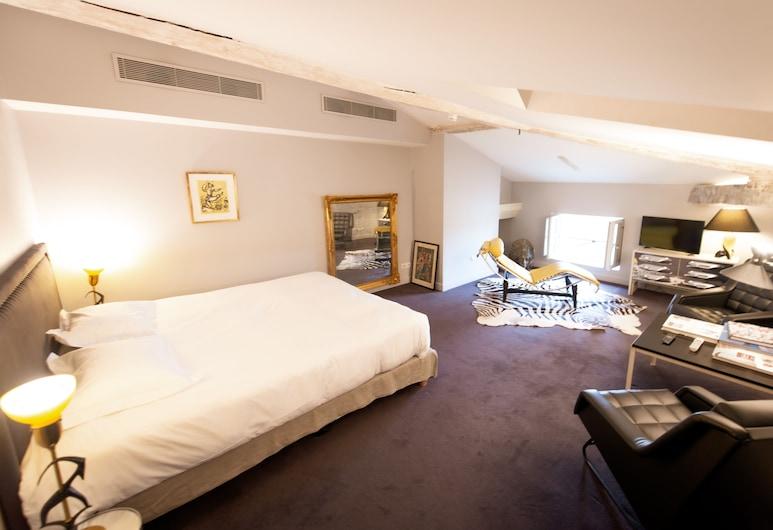 La Maison Fredon, Bordo, Prabangaus stiliaus kambarys (Grande chambre), Svečių kambarys
