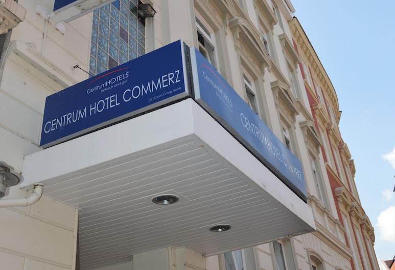 Centrum Hotel Commerz am Bhf Hamburg Altona, Hampuri, Hotellin julkisivu