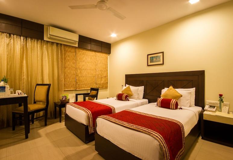 Hotel Classic Diplomat, New Delhi, Obiteljska soba, Soba za goste
