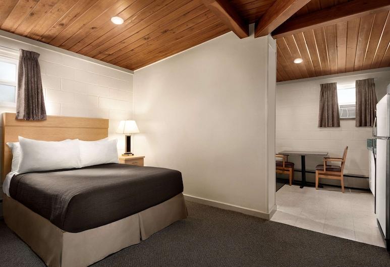 Thriftlodge Moose Jaw, Moose Jaw, Habitación, 2 camas dobles, para no fumadores, cocina básica, Habitación