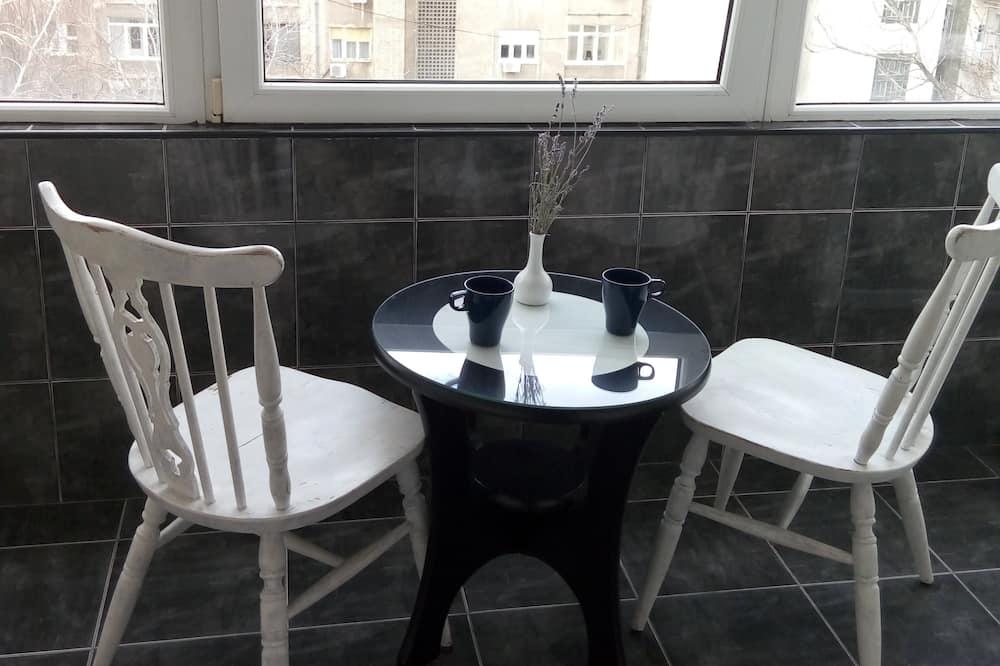 Apartament typu Premium, 3 sypialnie, kuchnia, widok na miasto - Balkon
