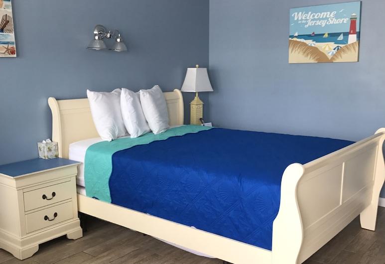 Pelican Point Motel, Pantai Point Pleasant , Standard Room, 1 Katil Ratu (Queen), Bilik Tamu