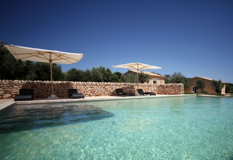 Antica Locanda del Golf, Ragusa, Vonkajší bazén