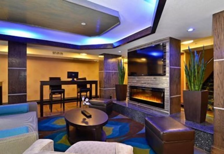 Comfort Inn & Suites I-10 Airport, El Paso, Lounge do Lobby