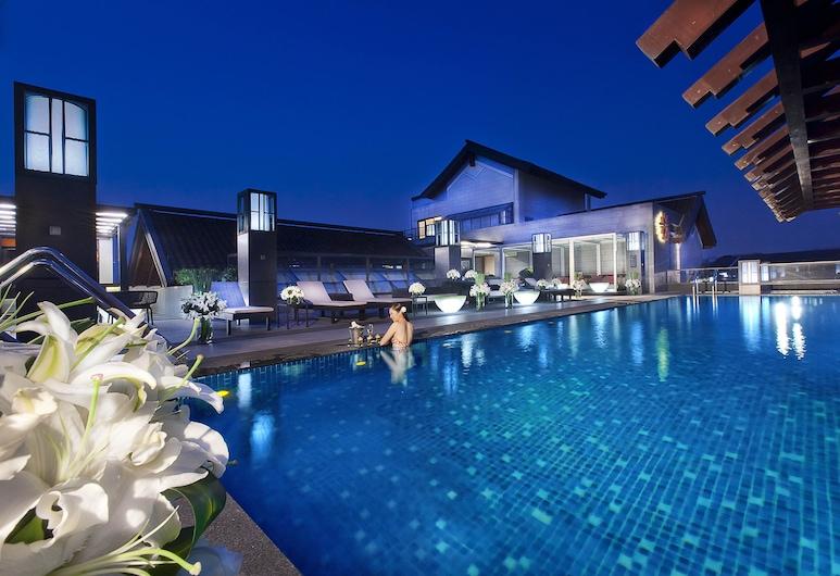 Angsana Hangzhou, Hangzhou, Bar pri bazéne