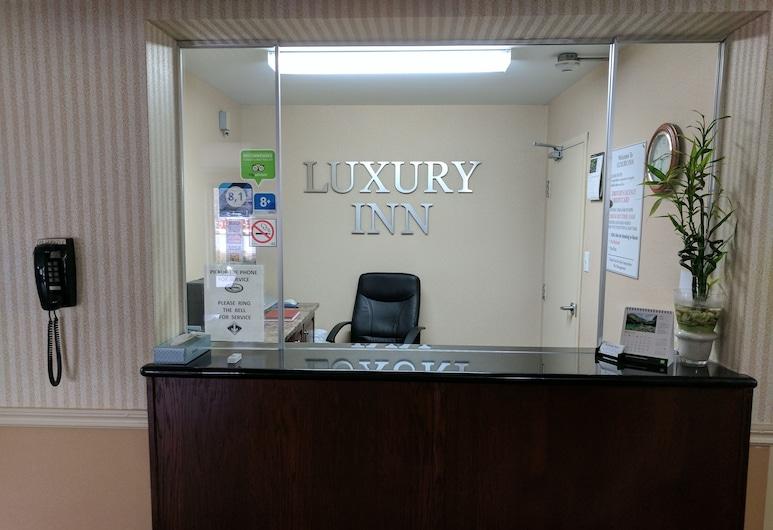 Luxury Inn, Collingwood, Receção