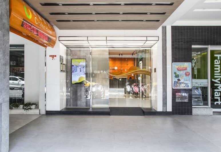 CityInn Hotel Taipei Station Branch I, Taipei, Wejście do hotelu