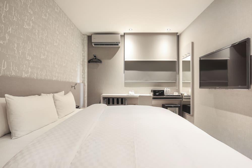 Divvietīgs numurs, 1 divguļamā karaļa gulta, nesmēķētājiem, skats uz pilsētu - Viesu numurs