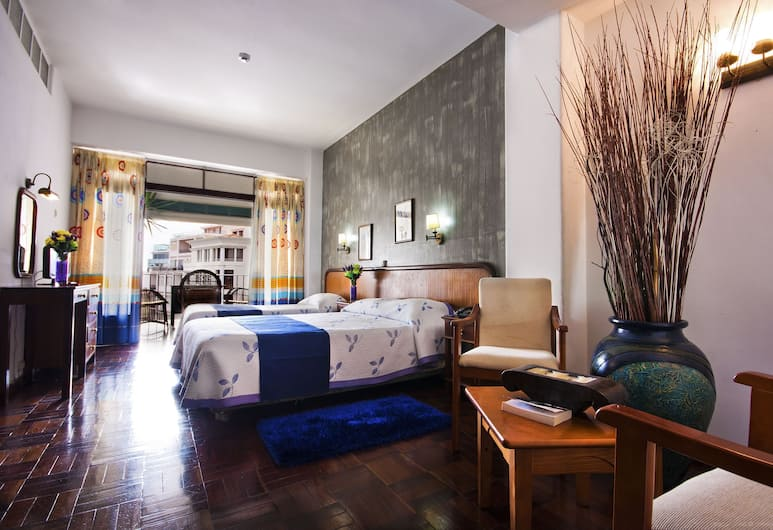 科倫坡住宅飯店, 芳夏爾, 三人房, 客房