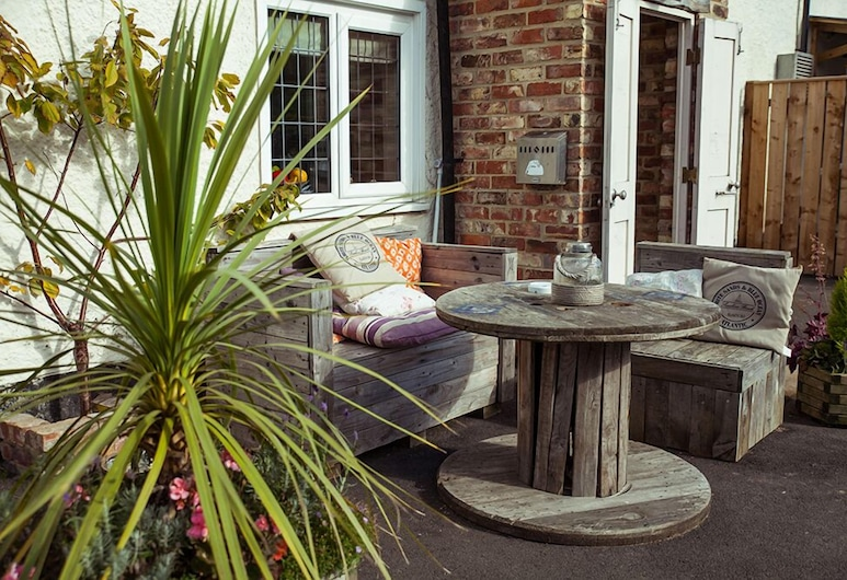 The Kings Arms, Thirsk, Terrazza/Patio