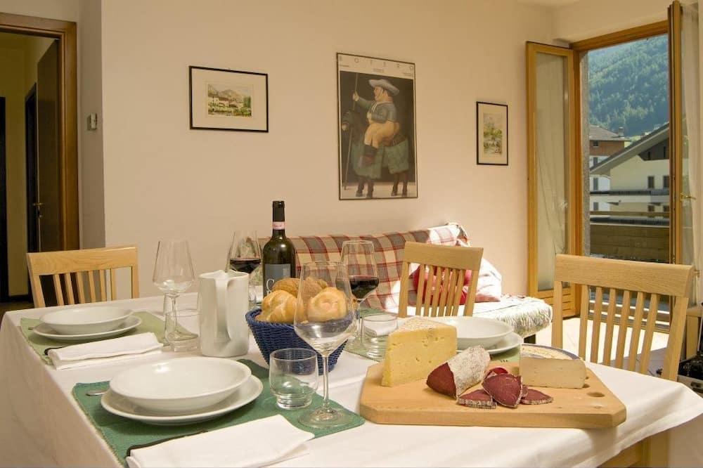 Standaard appartement, 2 slaapkamers, keuken - Woonkamer