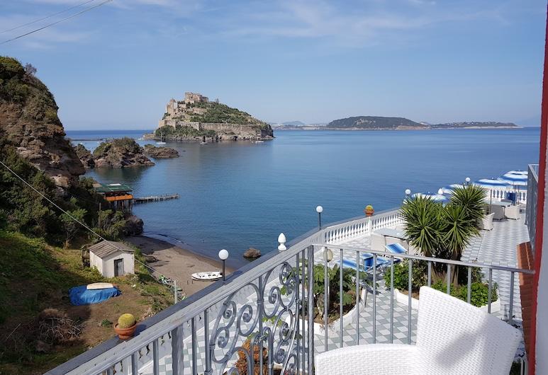 호텔 다 마리아, 이스키아, 더블룸, 바다 전망, 발코니