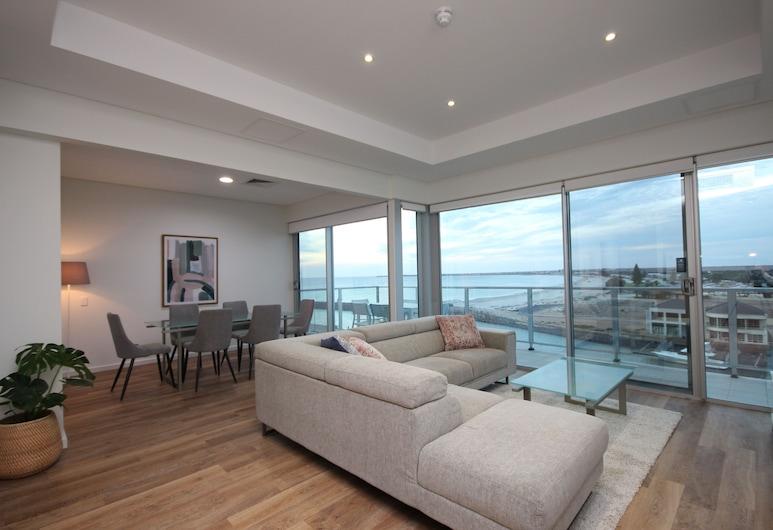 Wallaroo Marina Apartments, Γουάλαρου, Ρετιρέ, 2 Υπνοδωμάτια, Περιοχή καθιστικού