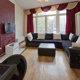 標準公寓, 1 間臥室 (Nieuwezijds Voorburgwal) - 客廳