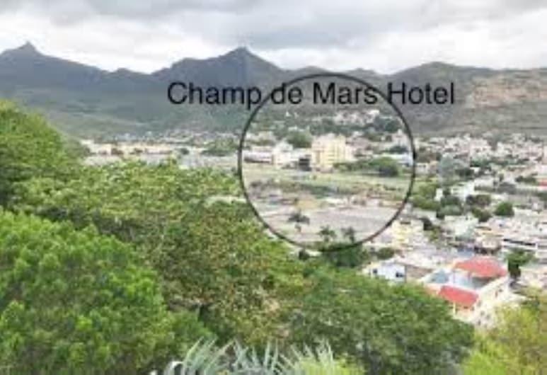 Champ de Mars Hotel, Port Louis, Fachada del hotel
