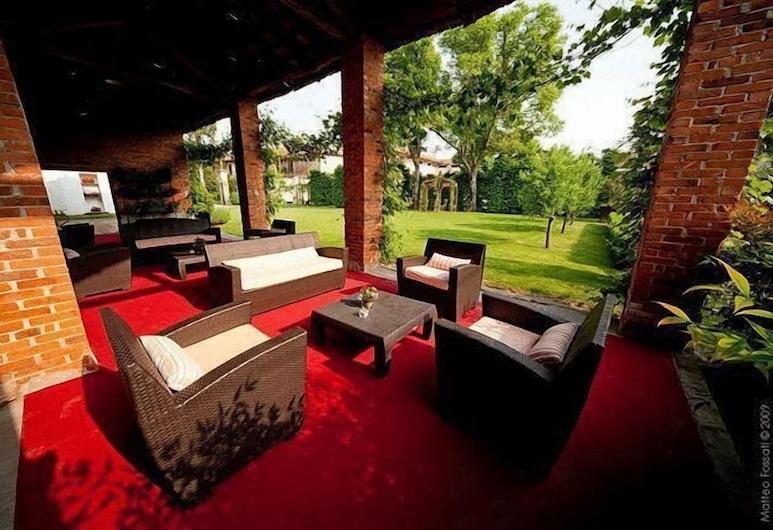 Resort Al Castello, Σιλαβένγκο, Κήπος