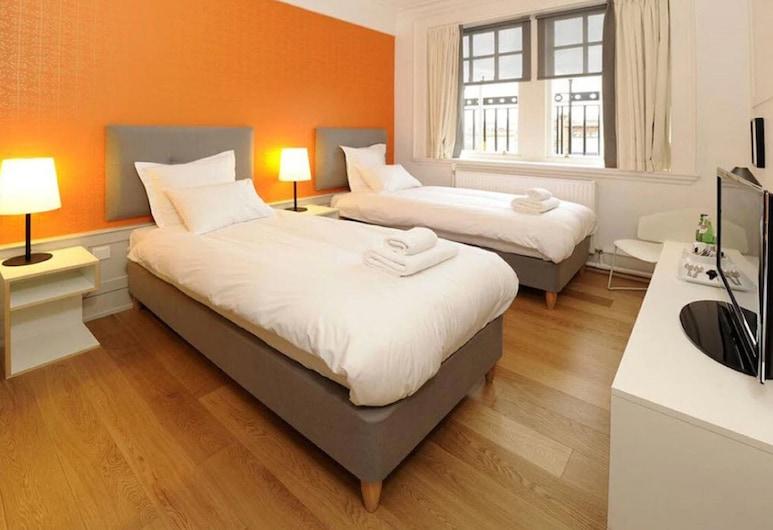 Grasshoppers Hotel Glasgow, Glasgow, Zweibettzimmer, Zimmer