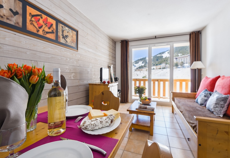 Résidence Lagrange Vacances L'Orée Des Cimes, Λε Ανγκλ, Μικρό Σπίτι, 2 Υπνοδωμάτια, Περιοχή καθιστικού