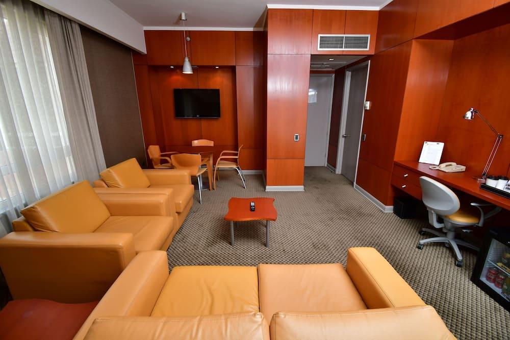 Luksusa numurs, 1 divguļamā karaļa gulta, nesmēķētājiem - Dzīvojamā istaba