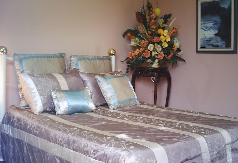 Shammah's Bed & Breakfast, Diego Martin, Standard Δίκλινο Δωμάτιο για Μονόκλινη Χρήση, 1 Διπλό Κρεβάτι, Ιδιωτικό Μπάνιο, Θέα στο Βουνό, Δωμάτιο επισκεπτών