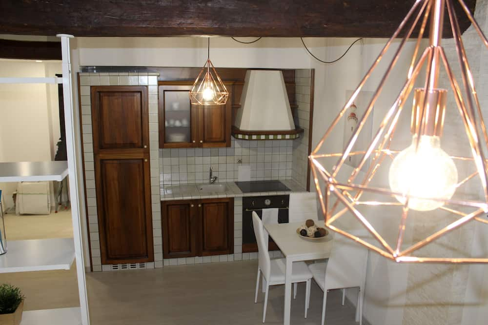 Deluxe Apartment, Kitchenette - Living Area