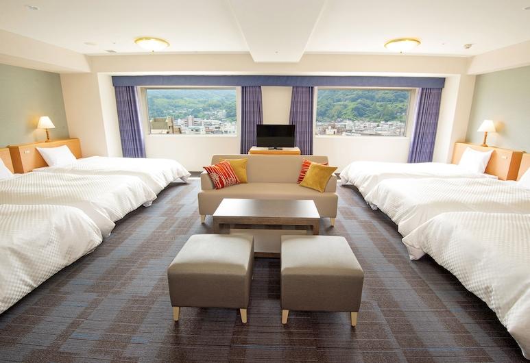 Beppu Kamenoi Hotel, Beppu, Family Room for 4 People, Smoking, Guest Room