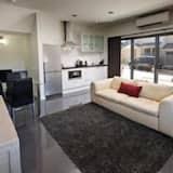 Appartamento, 1 camera da letto, idromassaggio - Area soggiorno