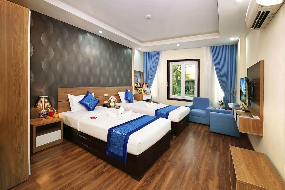 Pokój dwuosobowy z 1 lub 2 łóżkami typu Deluxe, Łóżko podwójne lub dwa pojedyncze - Pokój