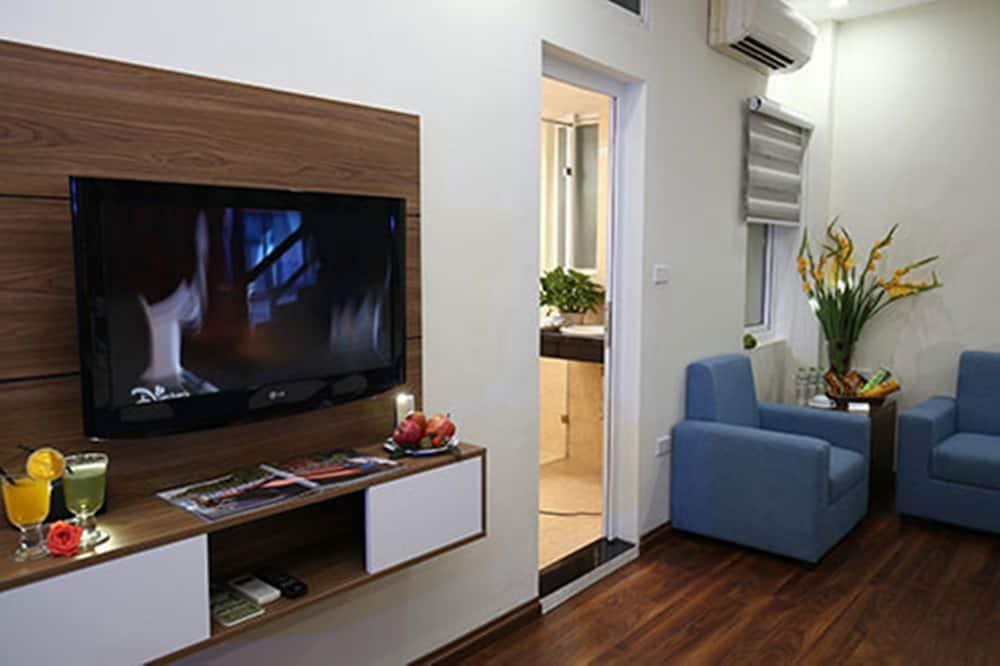 Apartament rodzinny typu Suite, 2 łóżka podwójne - Powierzchnia mieszkalna