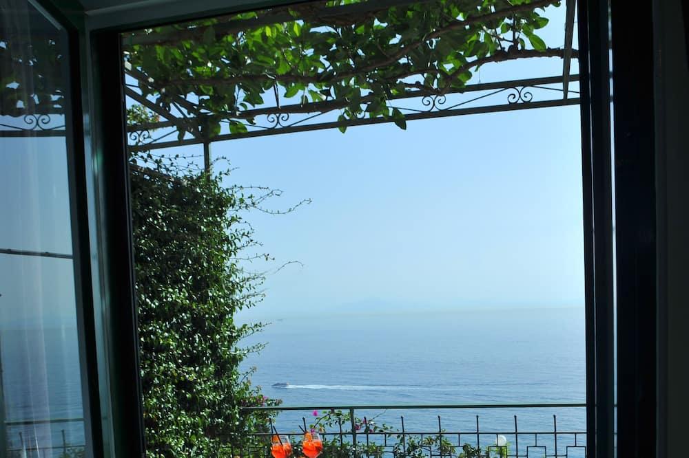 Standard szoba, terasz, kilátással a tengerre - Erkély