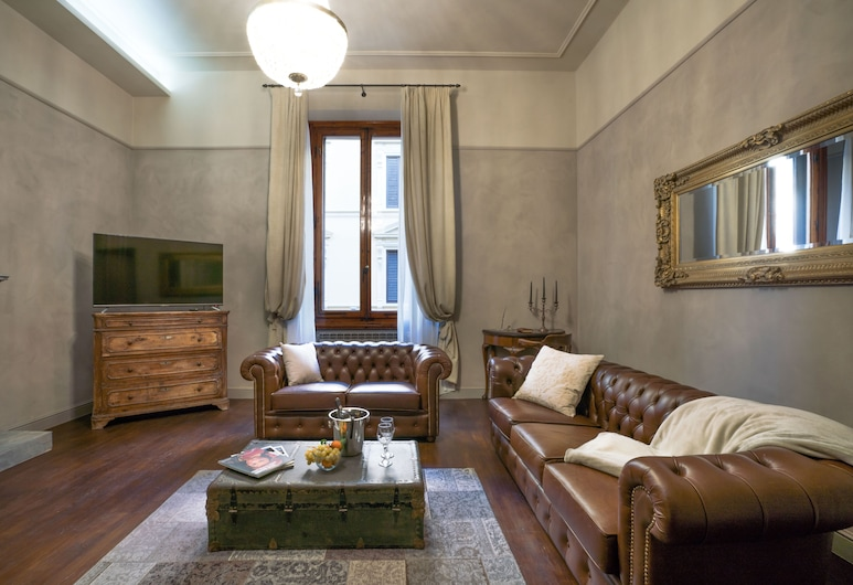 Le Camere dei Conti, Florence, Deluxe Suite, Living Area
