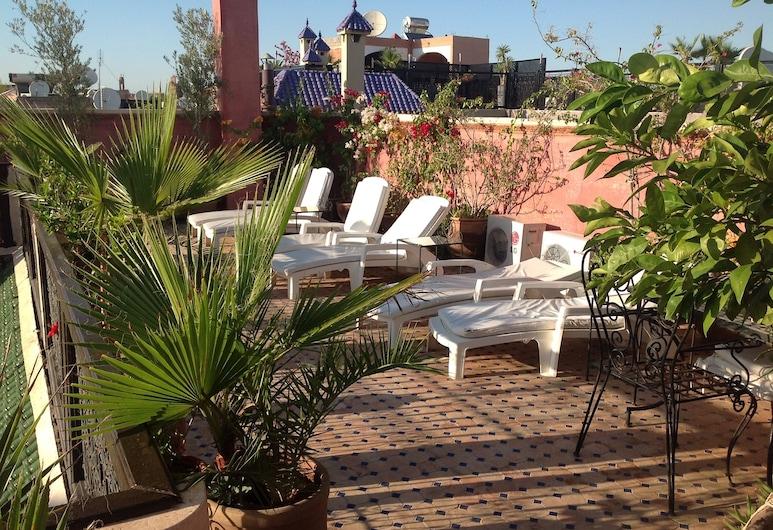 哈麥丹庭院酒店, 馬拉喀什, 陽台