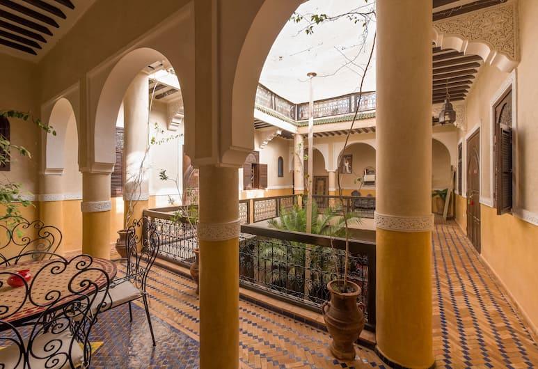 哈麥丹庭院酒店, 馬拉喀什, 庭園