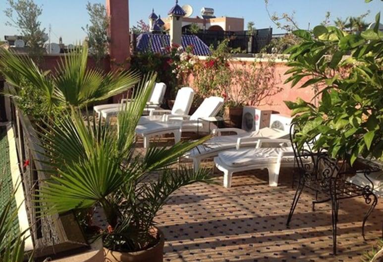 哈麥丹庭院飯店, 馬拉喀什, 露台
