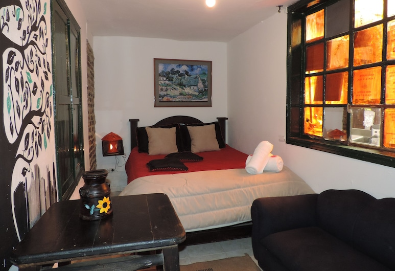Hostal Aventureros de la Candelaria - Hostel, Μπογκοτά, Δίκλινο Δωμάτιο (Double), Κοινόχρηστο Μπάνιο, Δωμάτιο επισκεπτών