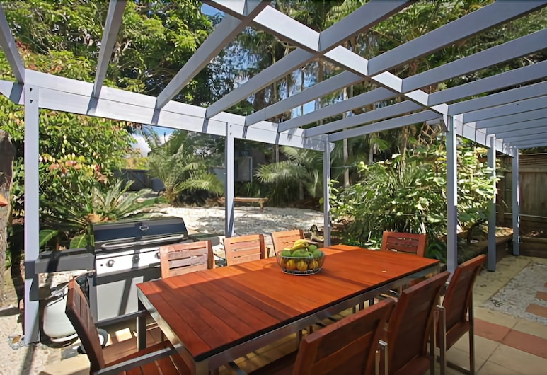 Harkaway Holiday House, Byron Bay, Casa, Terraza o patio