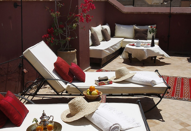 Riad Les 5 Soeurs, Marrakech, Terrace/Patio