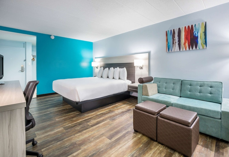 Rodeway Inn, Anderson, Standard Room, 1 King Bed, Non Smoking, Guest Room