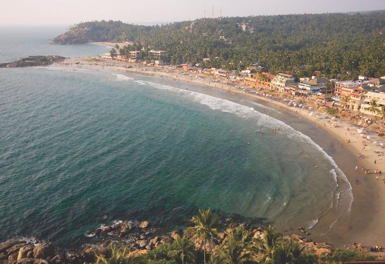 Kovalam Beach Hotel, Thiruvananthapuram, חוף ים