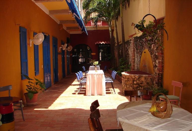 Hotel Casa De Las Palmas, Cartagena, Terrace/Patio