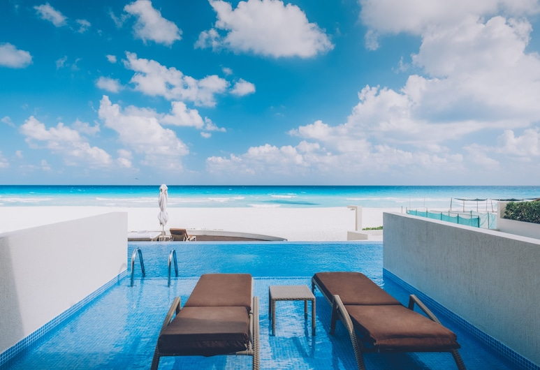 Iberostar Selection Cancun All Inclusive, Cancún, Villa, Meerblick (Swim Out), Ausblick vom Zimmer